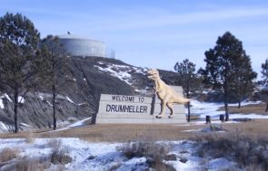 Welcome to Drumheller dinosaur