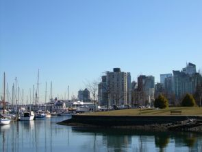 Marina from Stanley Park