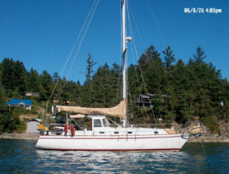Prairie SeaShell, 38 foot sailboat